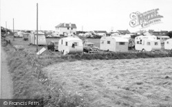 Morfa Bychan, Beach Road Cafe And Caravan Site c.1960