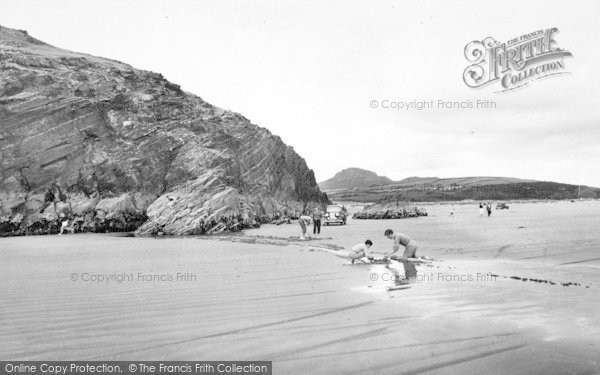 Photo of Morfa Bychan, Black Rock And Moel Y Gest c.1960