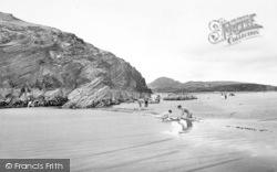 Morfa Bychan, Black Rock And Moel-Y-Gest c.1960
