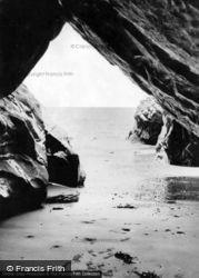 Morfa Bychan, Black Rock Caves c.1960