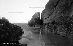 Morfa Bychan, Black Rock From Black Rock Sands 1931