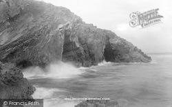 Morfa Bychan, Black Rock, High Tide 1897