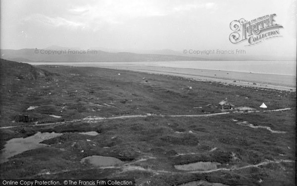 Photo of Morfa Bychan, Black Rock Sands And Cafe 1935