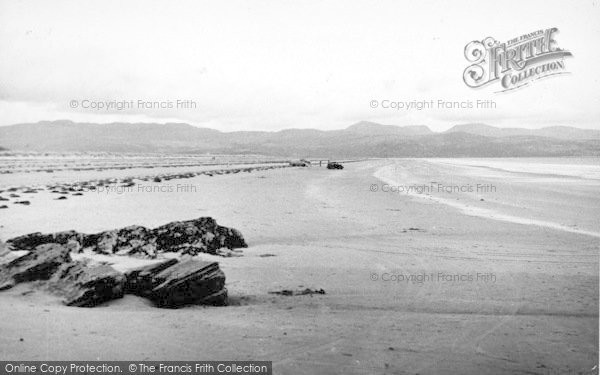 Photo of Morfa Bychan, Black Rock Sands c.1955