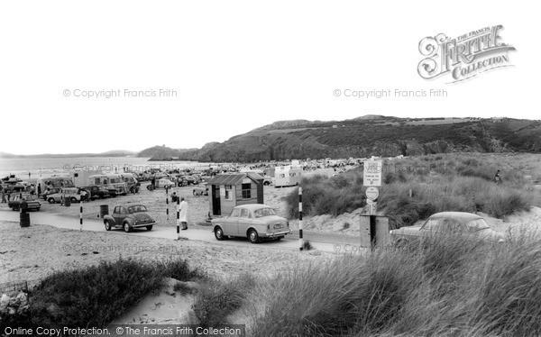 Photo of Morfa Bychan, Black Rock Sands c1965