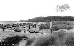Morfa Bychan, Black Rock Sands c.1965