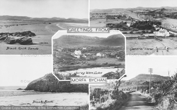 Photo of Morfa Bychan, Composite c.1955