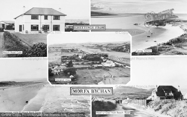 Photo of Morfa Bychan, Composite c.1960