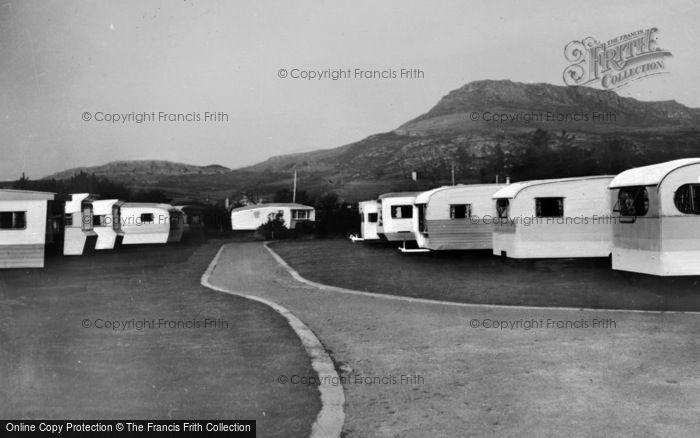 Photo of Morfa Bychan, Garreg Goch Caravan Park c.1960