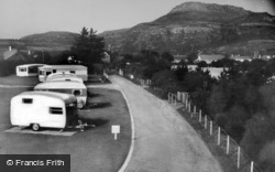 Morfa Bychan, Garreg Goch Caravan Park c.1960