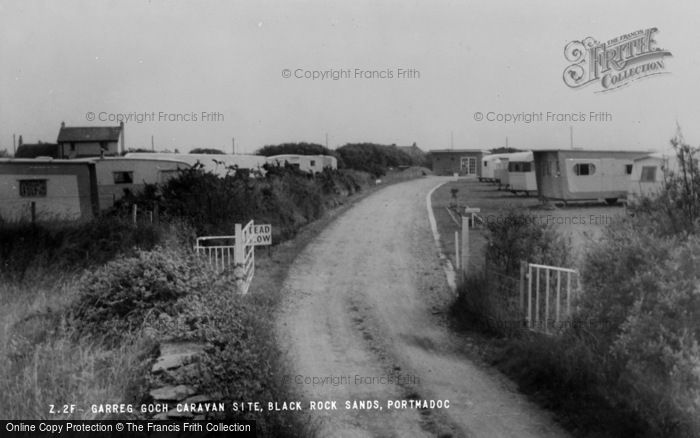 Photo of Morfa Bychan, Garreg Goch Caravan Site c.1960