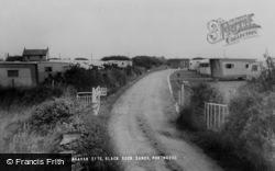 Morfa Bychan, Garreg Goch Caravan Site c.1960