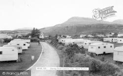 Morfa Bychan, Garreg Goch Caravan Site c.1965