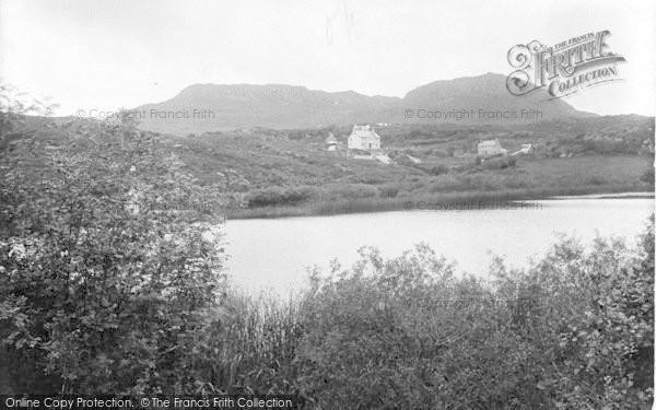 Photo of Morfa Bychan, Garreg Wen Lake 1925