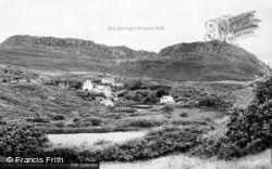 Morfa Bychan, Garreg Wen Lake And Moel-Y-Gest c.1960