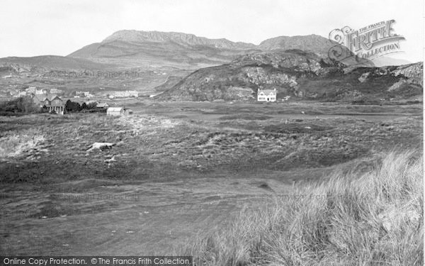 Photo of Morfa Bychan, Golf Links And Moel Y Gest 1925