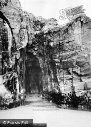 Morfa Bychan, The Caves, Black Rock c.1960