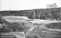 Morfa Nefyn, Aber Geirch (Cable Bay) c.1935