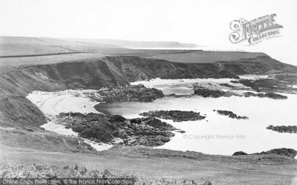 Photo of Morfa Nefyn, Borthwen From The Golf Links c.1935
