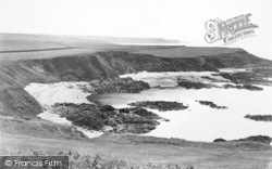 Morfa Nefyn, Borthwen From The Golf Links c.1935