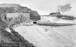 Morfa Nefyn, Lifeboat Bay c.1955