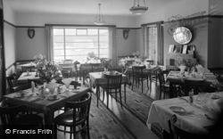 Morfa Nefyn, Linksway Hotel Dining Room c.1938
