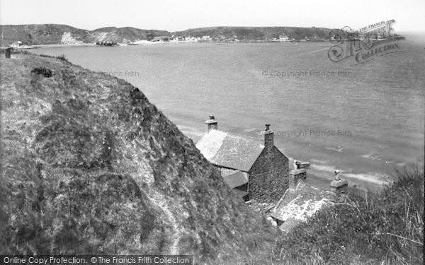 Photo of Morfa Nefyn, The Bay c.1955