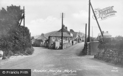 Morfa Nefyn, The Cross Roads c.1950