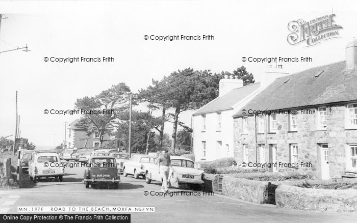 Photo of Morfa Nefyn, The Road To The Beach c.1965