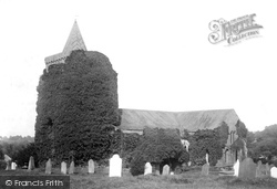 St Lawrence's Church 1893, Morland