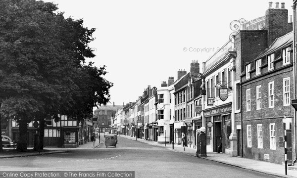 Photo of Morpeth, Bridge Street c1955, ref. M251033