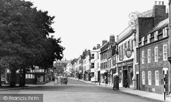 Morpeth, Bridge Street c.1955