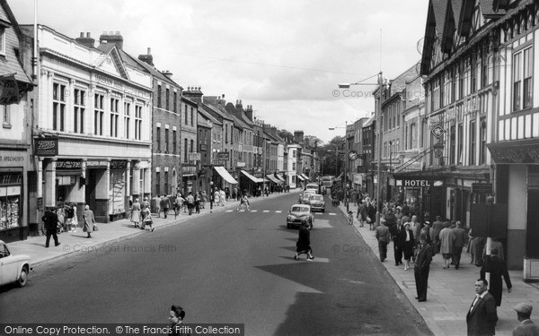 Photo of Morpeth, Bridge Street c1960, ref. M251059