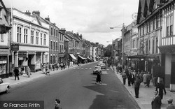 Morpeth, Bridge Street c.1960