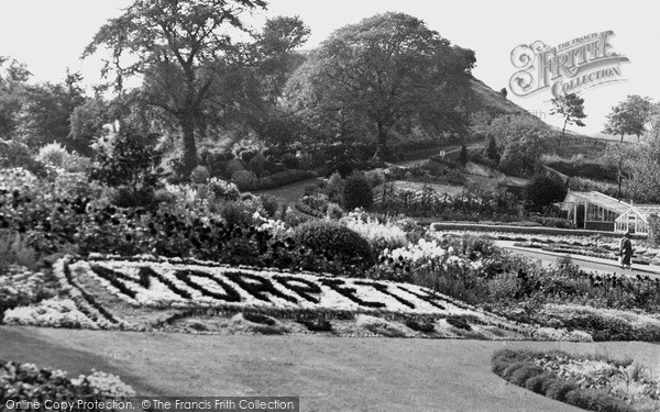 Photo of Morpeth, Carlisle Park c1955, ref. M251036