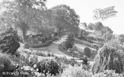 Morpeth, Carlisle Park c.1955