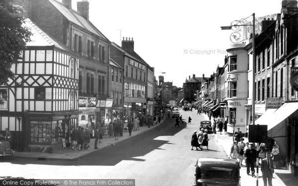 Photo of Morpeth, Chantry Place, Bridge Street c.1960