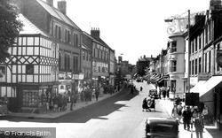 Morpeth, Chantry Place, Bridge Street c.1960