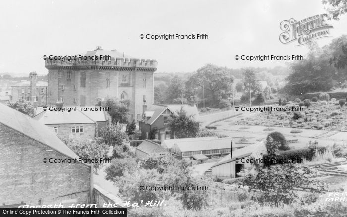 Photo of Morpeth, From The Ha'hill c.1965