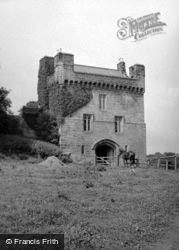 Morpeth, Morpeth Castle 1952