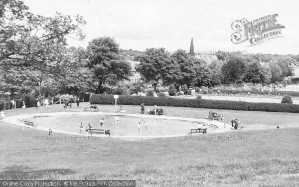 Photo of Morpeth, Paddling Pool In The Park c.1960
