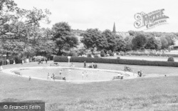 Morpeth, Paddling Pool In The Park c.1960