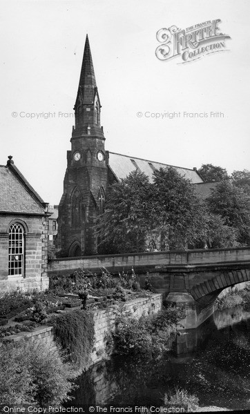 Morpeth, St George's Church c.1955