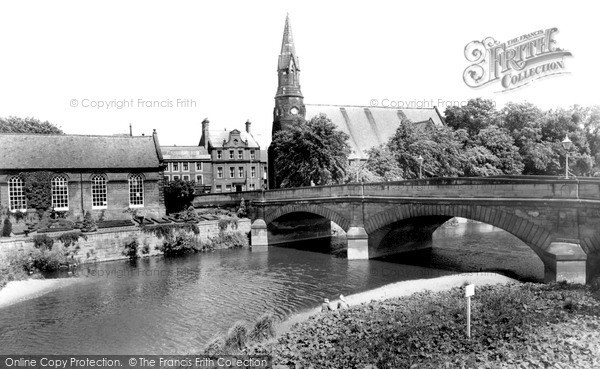 Photo of Morpeth, Telford Bridge c1955, ref. M251049