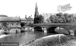 Morpeth, Telford Bridge c.1955