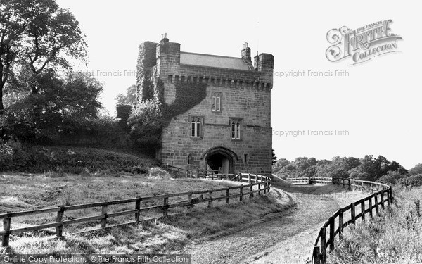 Photo of Morpeth, the Castle c1955, ref. M251038