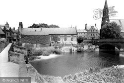 Morpeth, The Chantry From The Old Bridge c.1960