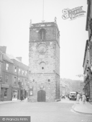 Morpeth, The Clock Tower 1952