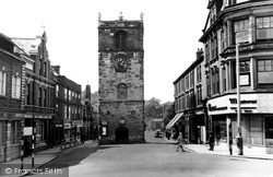 Morpeth, The Clock Tower c.1965