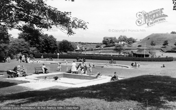 Photo of Morpeth, the Park c1965, ref. M251063